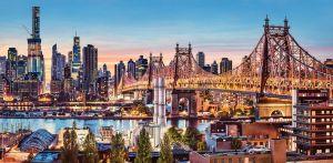 Puzzle Castorland 4000 dílků - Dobrý večer - New York 400256