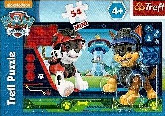 Puzzle mini 54 d - Trefl - Paw patrol - psí patrola 19601