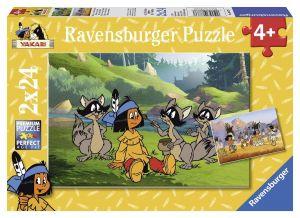 Puzzle Ravensburger  2x24 dílků  Yakari   088737