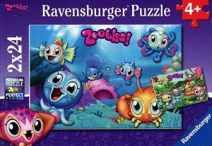 Puzzle Ravensburger  2x24 dílků  Zoobless   088867