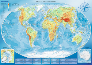 Puzzle TREFL 4000 dílků - Zeměpisná mapa 45007