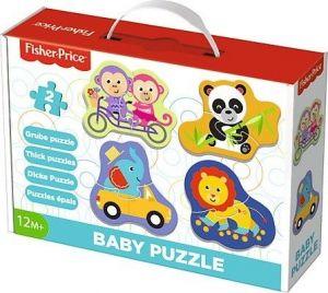 Puzzle Trefl  Baby   Radostná zvířátka - Fischer Price    36081