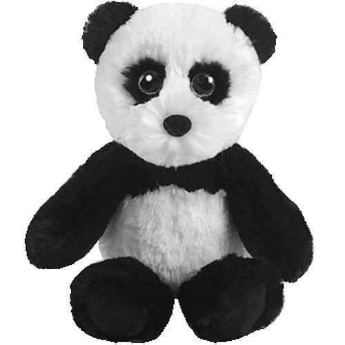 TY Attic Treasures - podkrovní poklady - panda Fluff 65026 - 15 cm plyšák TY Inc. ( Meteor )