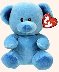 TY Beanie Baby - modrý medvídek Lullaby  82007 - 24  cm plyšák