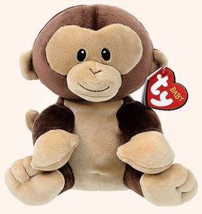 TY Beanie Baby - opička Banana  82003 - 24  cm plyšák
