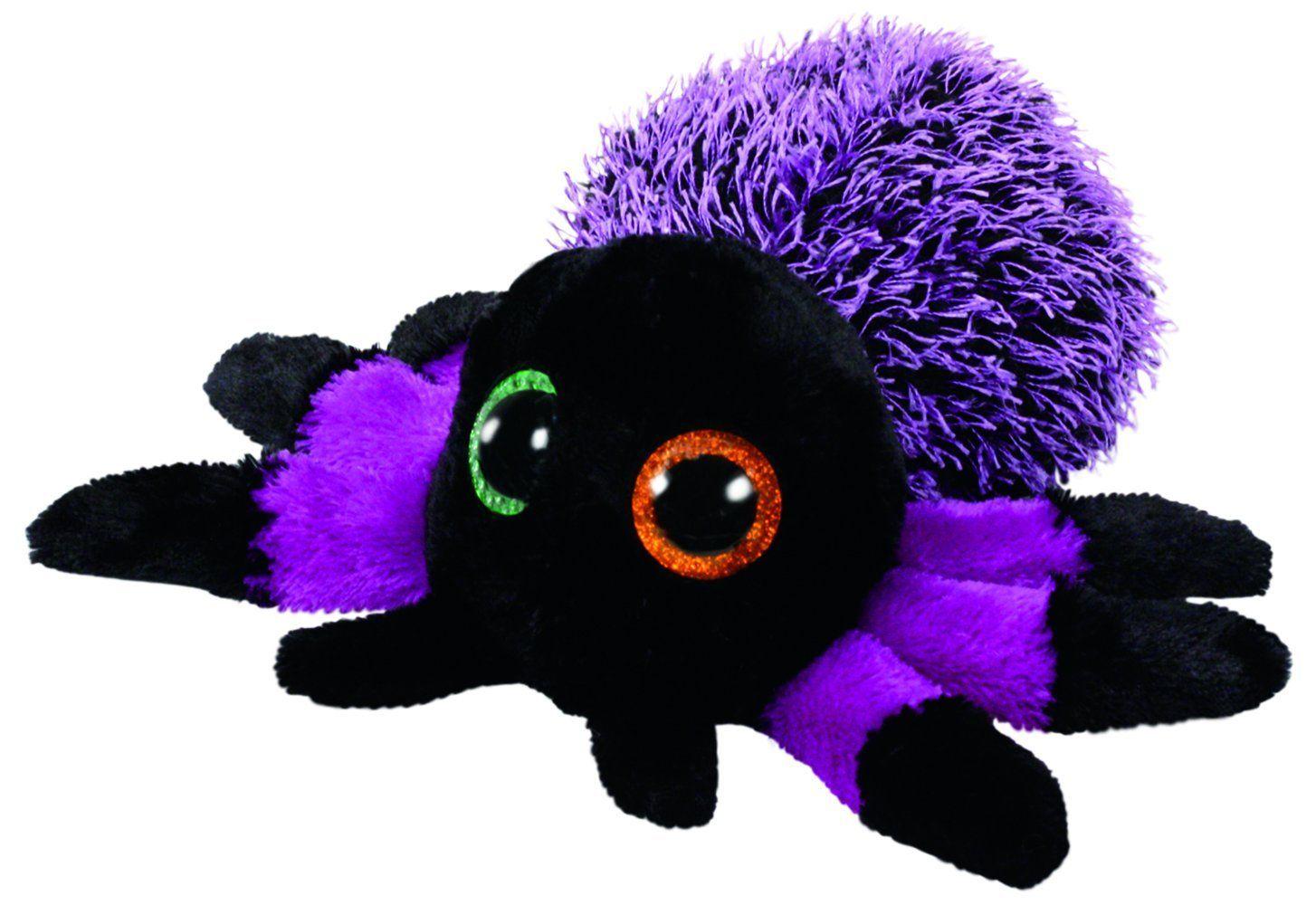 TY Beanie Boos - CREEPER - fialový pavouk 37248 - 15 cm plyšák TY Inc. ( Meteor )
