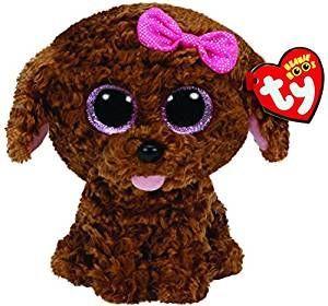 TY Beanie Boos - Maddie - hnědý pejsek  36157 - 15 cm plyšák