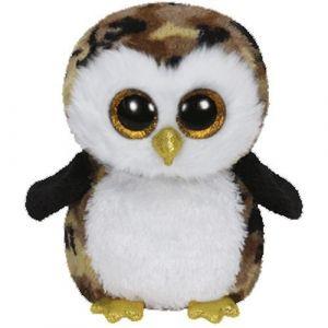 TY Beanie Boos - Owliver - hnědá sova   36121  - 15 cm plyšák