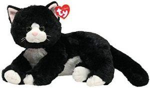 TY Classic  - Shadow - černá kočička  10037  -  33 cm plyšák
