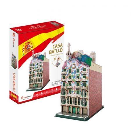 3 D Puzzle CubicFun Casa Batlló 68 dílků Cubic Fun