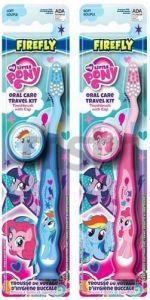 My Little Pony   - zubní kartáček s krytkou - modrý