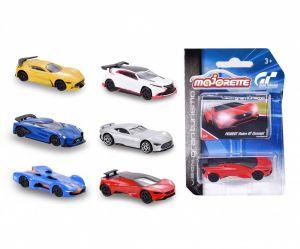 Autíčko Majorette Gran Turismo -  assort 6 druhů