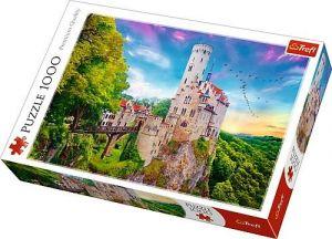 Puzzle Trefl  1000 dílků  - zámek Lichtenstein - Německo  10497