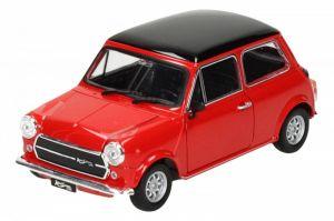 Auto Welly 1:24 Mini Cooper 1300 červený