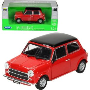 Auto Welly 1:24 Mini Cooper 1300 červený