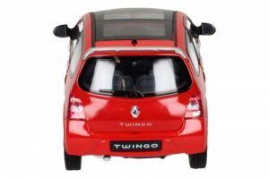 Auto Welly 1:24 Renault Twingo GT červené