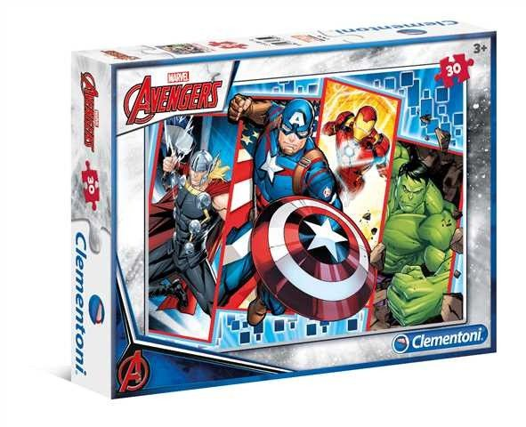 Clementoni puzzle 30 dílků - Avengers 08518