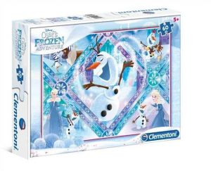 Dětské puzzle Clementoni  60 dílků  - Frozen - Olaf   08435