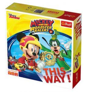 hra Trefl - Frozen - Mickey a závodníci   01609