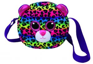 Meteor TY - plyšová kabelka na rameno  - leopard  Dotty   95104