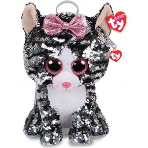 Meteor TY - plyšový batoh  s flitry - kočička Kiki   95020