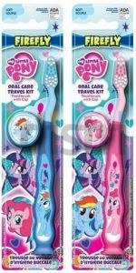 My Little Pony   - zubní kartáček s krytkou - růžový