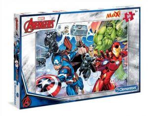 Podlahové puzzle Clementoni 30  dílků MAXI  - Avengers  07440