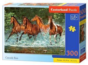 Puzzle Castorland 300 dílků - koně ve vodě    030361