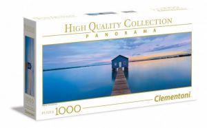 Puzzle Clementoni 1000 dílků panorama - Uklidňující modř 39439