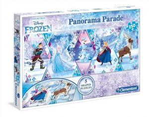 Puzzle Clementoni 250 dílků - Panorama -  Frozen  29749