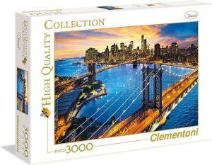 Puzzle Clementoni 3000 dílků  - New York   33546
