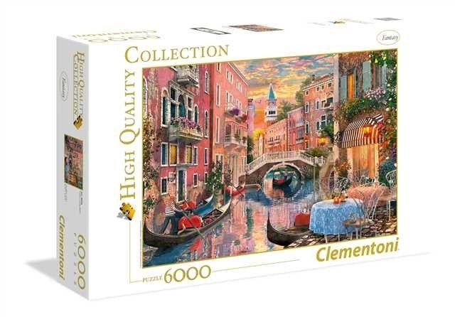 Puzzle Clementoni 6000 dílků - Západ slunce nad Benátkami 36524