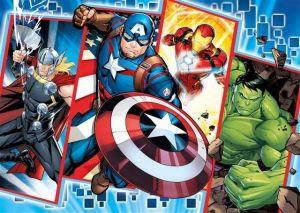 Puzzle Clementoni MAXI - 24 dílků - Avengers 24495
