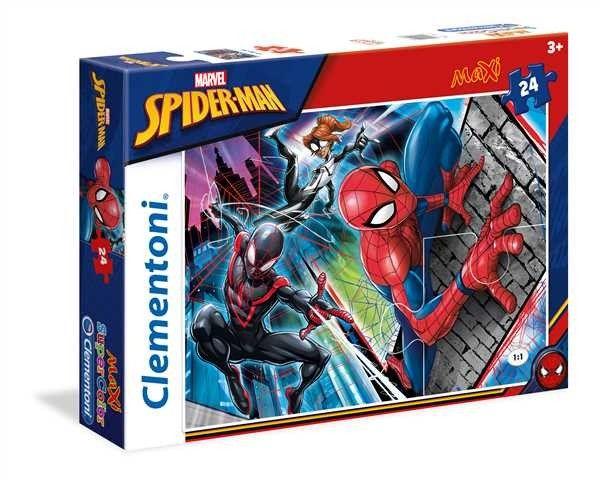 Puzzle Clementoni MAXI - 24 dílků - Spiderman 24497