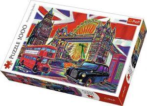 Puzzle Trefl  1000 dílků  - barvy Londýna   10525