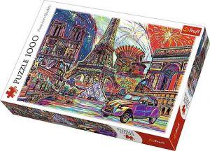 Puzzle Trefl  1000 dílků  - barvy Paříže   10524