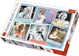 Puzzle Trefl  1000 dílků  - Marilyn Monroe - fotografie -  koláž  10529