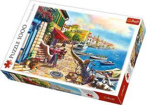 Puzzle Trefl  1000 dílků  - prosluněný  bulvár 10527