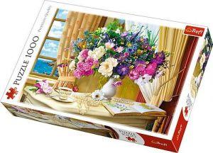 Puzzle Trefl  1000 dílků  - ranní květiny  10526
