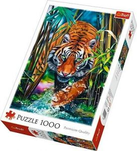 Puzzle Trefl  1000 dílků  - Tygr   10528