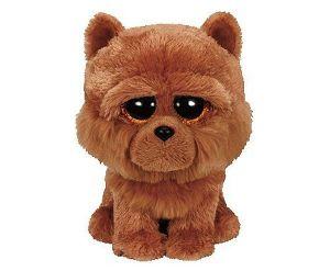 TY Beanie Boos - BARLEY - hnědý pejsek     36193 - 15 cm plyšák
