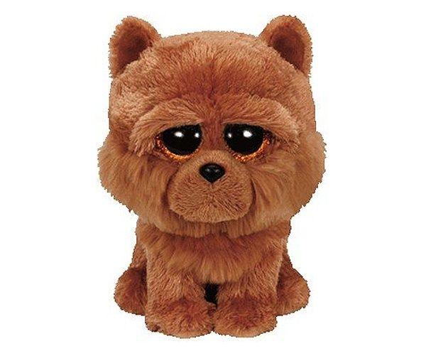 TY Beanie Boos - BARLEY - hnědý pejsek 36193 - 15 cm plyšák TY Inc. ( Meteor )
