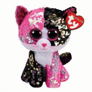 TY Beanie Boos Flippables - Malibu - kočička   36430 - 24 cm plyšák
