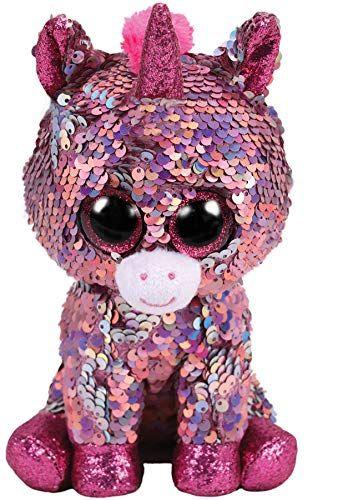 TY Beanie Boos Flippables - Sparkle - růžový jednorožec 36266 - 15 cm plyšák TY Inc. ( Meteor )