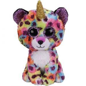 TY Beanie Boos - Giselle - leopard s rohem    36284 - 15 cm plyšák