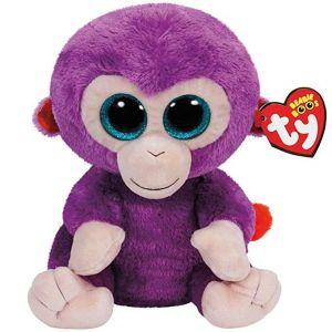 TY Beanie Boos - Grapes - fialová opice   37045 - 24 cm plyšák