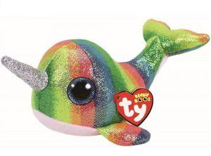 TY Beanie Boos - Nori - duhový narval  s rohem  36418  - 24 cm plyšák