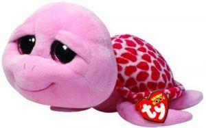 TY Beanie Boos - Shellby - růžová  želva   36990 - 24 cm plyšák