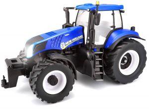 Maisto - RC Farm Tractor 1:16 New Holland - modrý