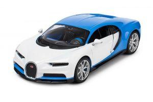 auto Maisto  1:24 Design - Bugatti Chiron - bílé
